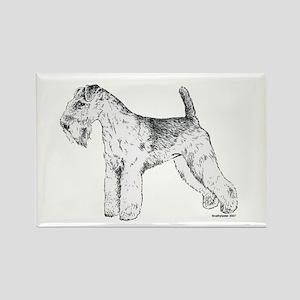 Lakeland Terrier Rectangle Magnet