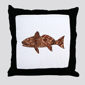 REDFISH Throw Pillow