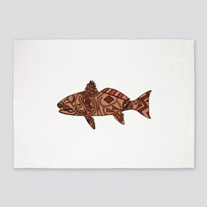 REDFISH 5'x7'Area Rug