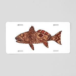 REDFISH Aluminum License Plate