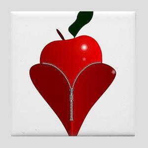 Love Fruit Tile Coaster