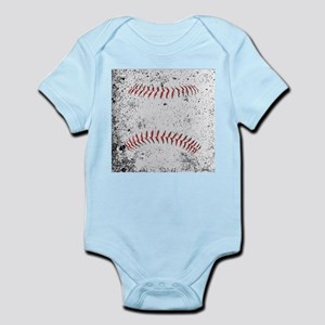 Grunge Baseball Stitches Body Suit