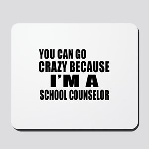 I Am school counselor Mousepad