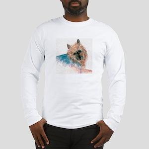Australian Terrier face Long Sleeve T-Shirt