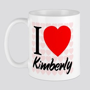 I Love Kimberly Mug