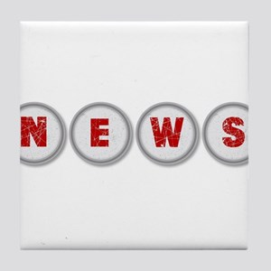 NEWS Tile Coaster