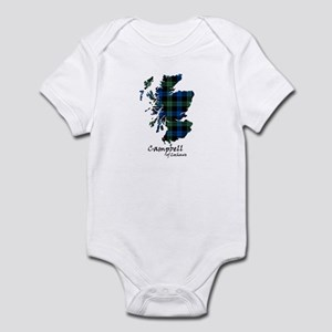 Map - Campbell of Lochawe Infant Bodysuit