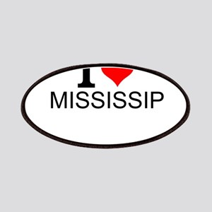 I Love Mississippi Patch