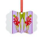 ORCHIDS Picture Ornament