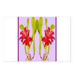 ORCHIDS Postcards (Package of 8)