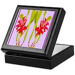 ORCHIDS Keepsake Box