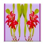ORCHIDS Tile Coaster