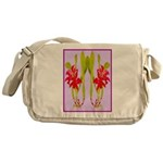 ORCHIDS Messenger Bag