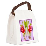ORCHIDS Canvas Lunch Bag