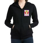 ORCHIDS Women's Zip Hoodie