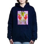 ORCHIDS Women's Hooded Sweatshirt
