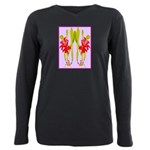 ORCHIDS Plus Size Long Sleeve Tee