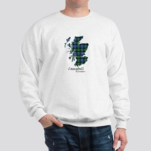 Map - Campbell of Loudoun Sweatshirt