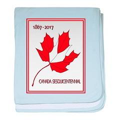 Canada, Sesquicentennial Celebration baby blanket