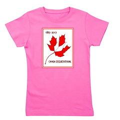 Canada, Sesquicentennial Celebration Girl's Tee