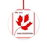 Canada, Sesquicentennial Celebration Round Ornamen