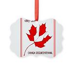Canada, Sesquicentennial Celebration Picture Ornam