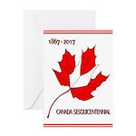 Canada, Sesquicentennial Celebration Greeting Card