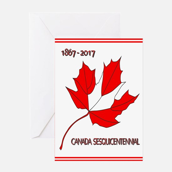 Canada, Sesquicentennial Celebration Greeting Card