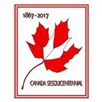 Canada, Sesquicentennial Celebration Small Poster