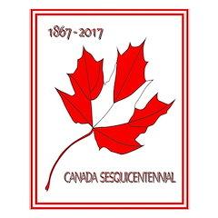 Canada, Sesquicentennial Celebration Small Poster