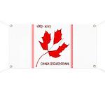 Canada, Sesquicentennial Celebration Banner