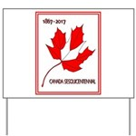 Canada, Sesquicentennial Celebration Yard Sign