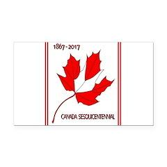 Canada, Sesquicentennial Celebration Rectangle Car
