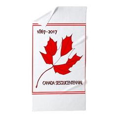 Canada, Sesquicentennial Celebration Beach Towel
