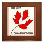 Canada, Sesquicentennial Celebration Framed Tile