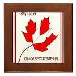 Canada, Sesquicentennial Celebration Framed Tile