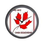 Canada, Sesquicentennial Celebration Wall Clock
