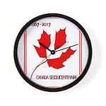 Canada, Sesquicentennial Celebration Wall Clock