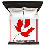 Canada, Sesquicentennial Celebration King Duvet