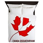 Canada, Sesquicentennial Celebration Queen Duvet