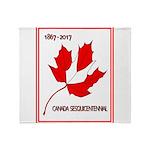 Canada, Sesquicentennial Celebration Throw Blanket