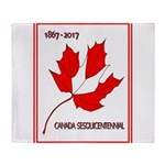Canada, Sesquicentennial Celebration Throw Blanket