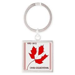 Canada, Sesquicentennial Celebration Keychains