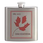 Canada, Sesquicentennial Celebration Flask
