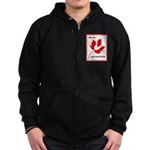 Canada, Sesquicentennial Celebration Zipped Hoodie