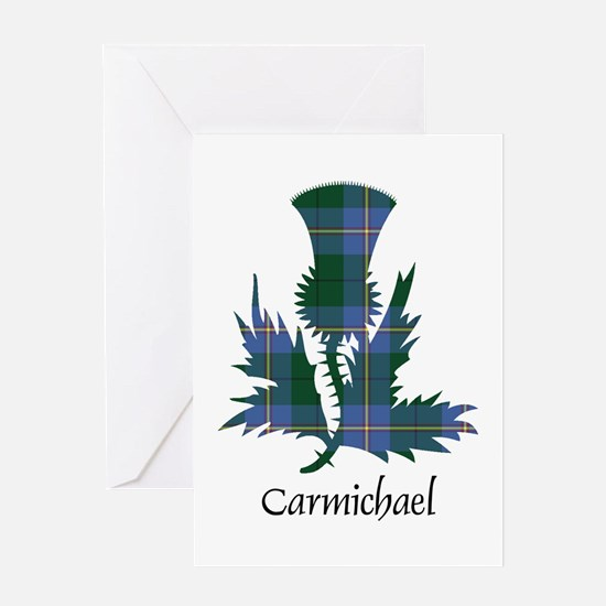 Thistle - Carmichael Greeting Card