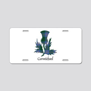 Thistle - Carmichael Aluminum License Plate