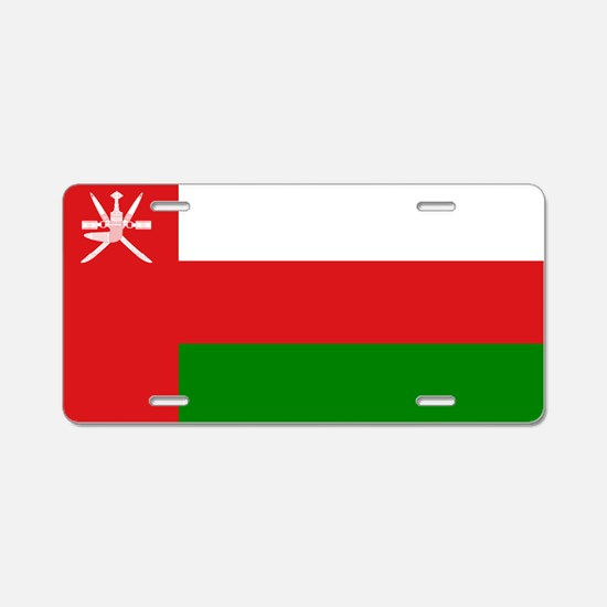 Cute Country flags Aluminum License Plate