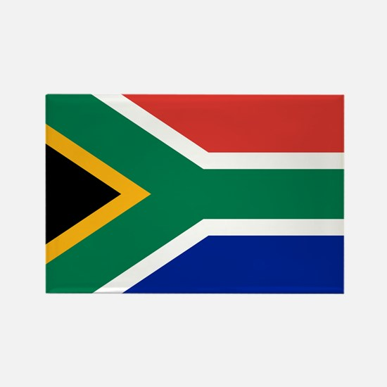 Cute South africa flag Rectangle Magnet