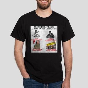Dems Always On Losing Side Ash Grey T-Shirt